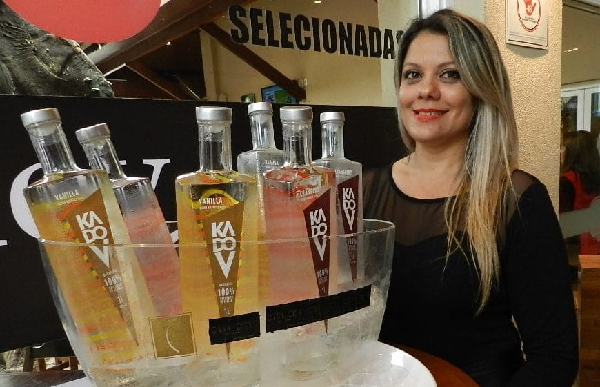Vodka Kadov pra animar o aniversário do JundiAqui terça