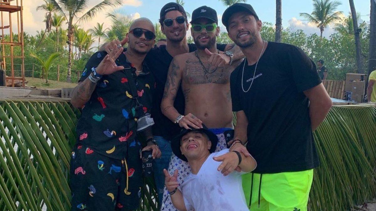 Jundiaiense Nenê curte férias com Neymar