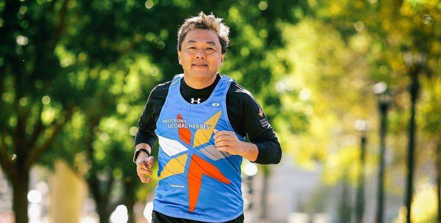 Roberto Itimura virou o jogo da vida na base da corrida