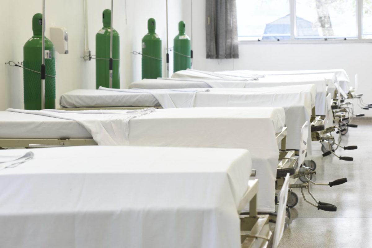 Hospital de Campanha recebe 5 pacientes transferidos do São Vicente